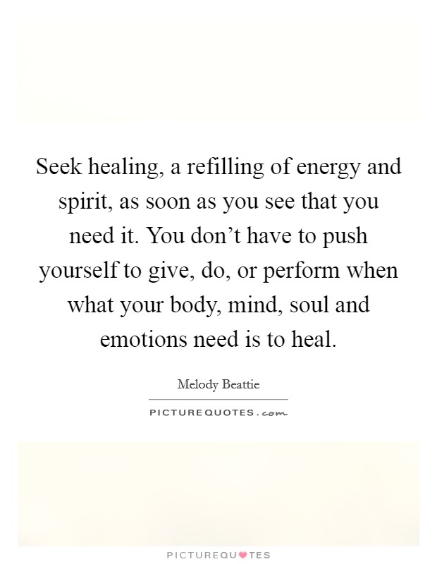 The Science of Healing Thoughts