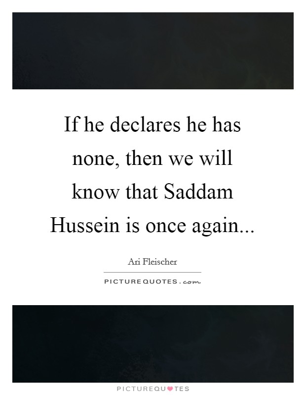 how to create a memorial for saddam hussien