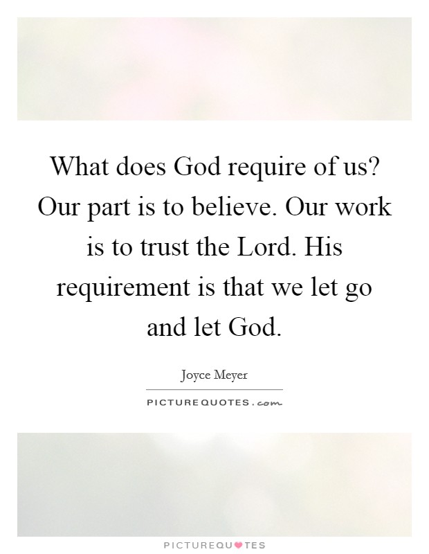 Let Go And Let God Quotes & Sayings | Let Go And Let God ...