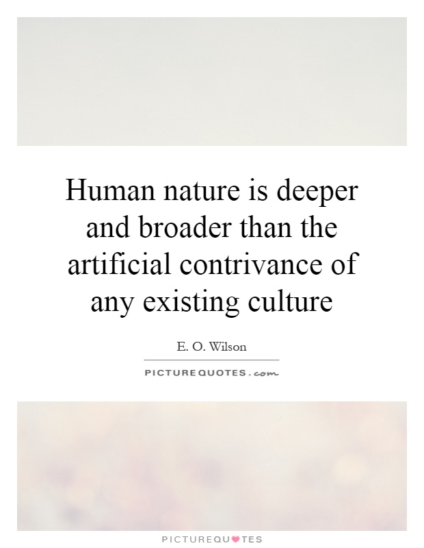 William wilson about human nature