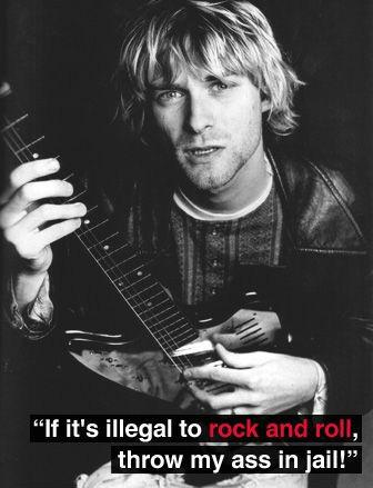 If it's illegal to rock and roll, throw my ass in jail! Picture Quote #1