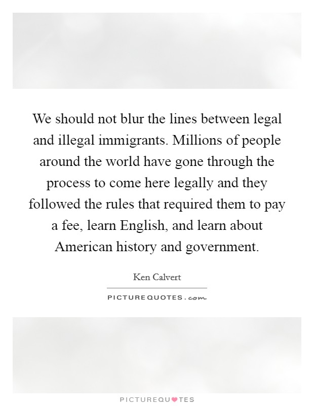 illegal immigration in america should be stopped Should immigration be stopped should the us stop immigration borders are put in place to help stop the illegal immigrants from entering other countries.