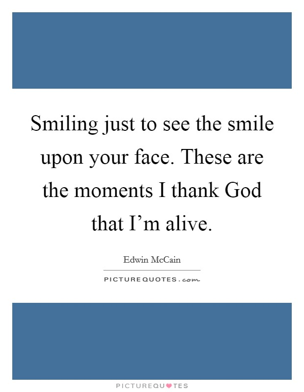 Just Smile Sayings