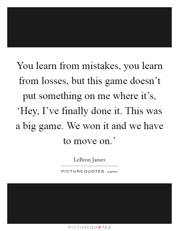 Learning From Mistakes Quotes & Sayings