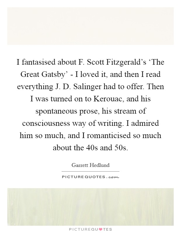 an analysis of life direction in the great gatsby by f scott fitzgerald F scott fitzgerald (1896-1940) a selective list of online literary criticism and analysis for the twentieth-century american novelist and short story writer f scott fitzgerald, favoring.