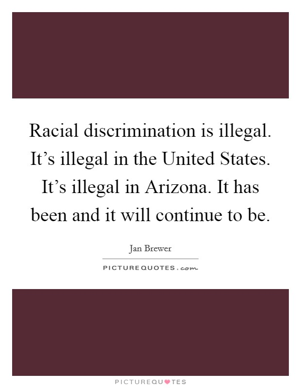 Discrimination race and united states