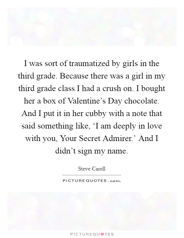 Secret Admirer Quotes Cool Secret Admirer Quotes & Sayings  Secret Admirer Picture Quotes