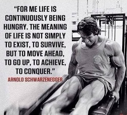 Arnold Schwarzenegger Quote About Life 1 Picture Quote #1
