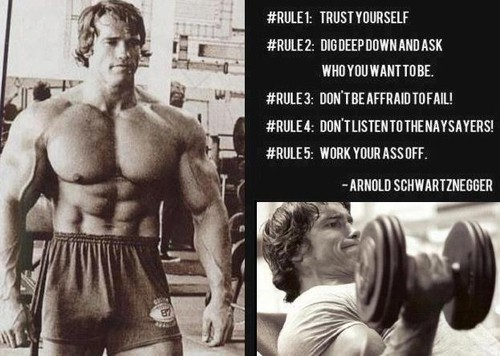Arnold Schwarzenegger Quote On Bodybuilding 1 Picture Quote #1
