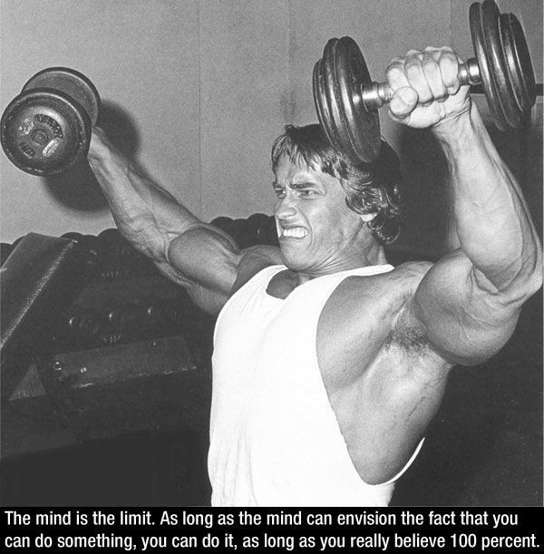 Arnold Schwarzenegger Inspirational Quote 1 Picture Quote #1