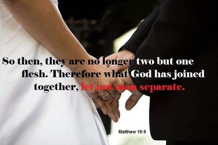 Therefore what God has joined together, let no man separate Picture Quote #2