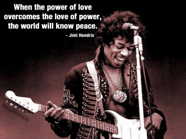 When the power of love overcomes the love of power the world will know peace Picture Quote #3