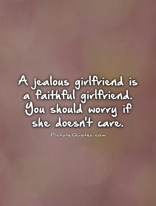 Im getting jealous of a girl that im not dating