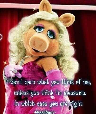 Pin by amyofavalon on Kidulthood | Miss piggy, Happy ... |Happy Sunday Miss Piggy Memes