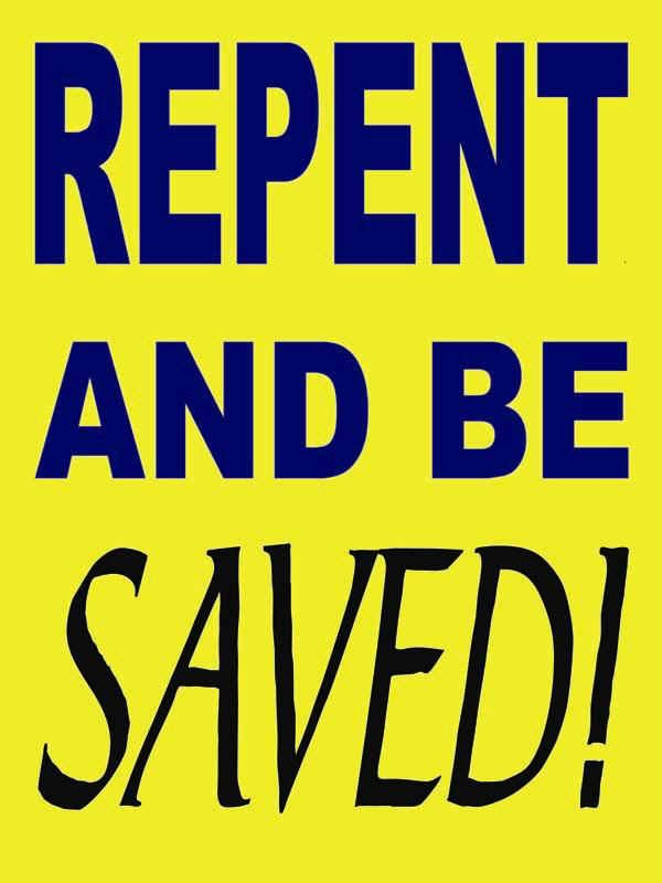 Christian Repentance Quote 1 Picture Quote #1