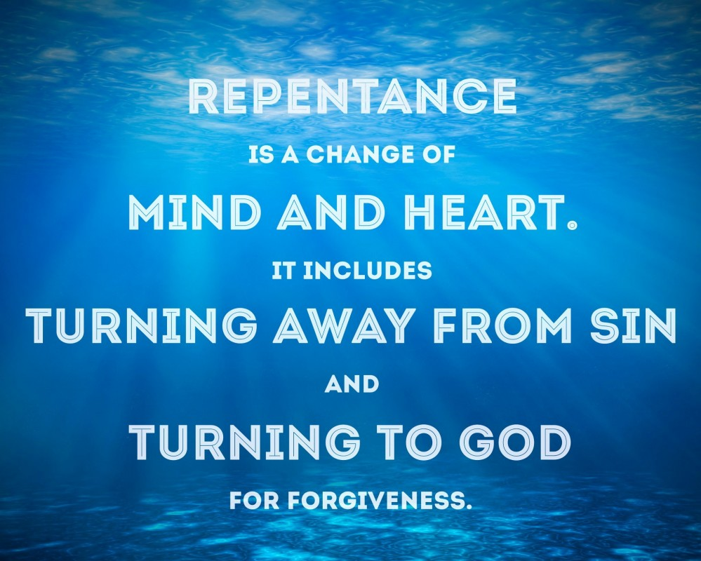 Christian Repentance Quote 3 Picture Quote #1