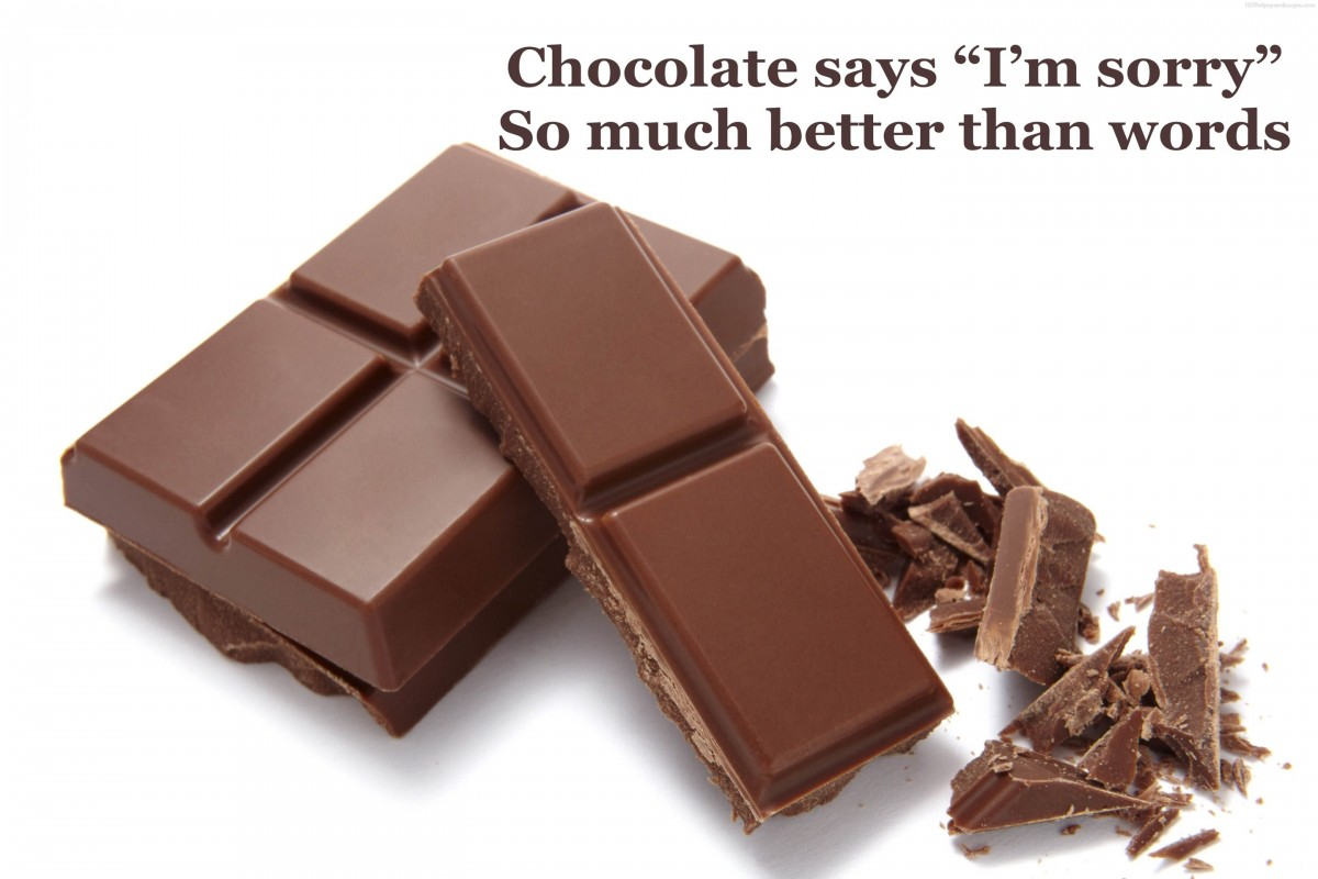Chocolate Day Quote 2 Picture Quote #1