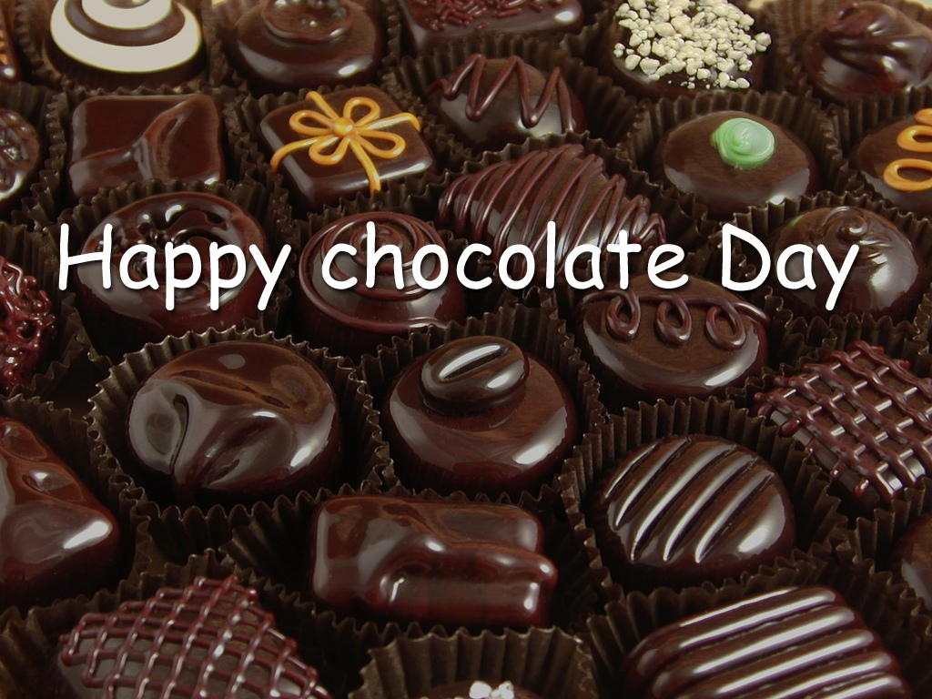 Happy Chocolate Day Quote 1 Picture Quote #1