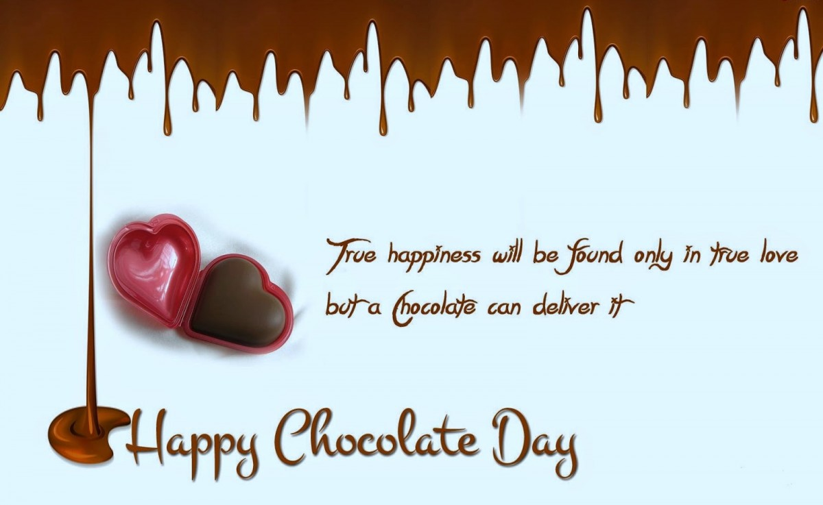 Happy Chocolate Day Quote 2 Picture Quote #1