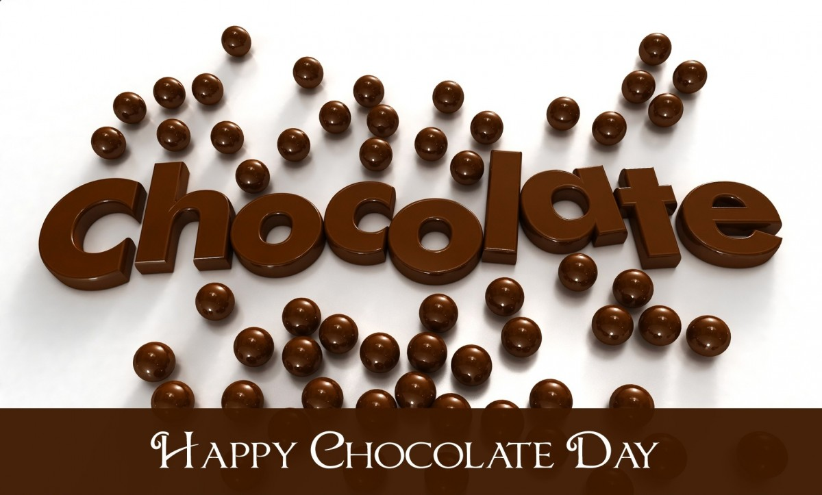 Happy Chocolate Day Quote 4 Picture Quote #1