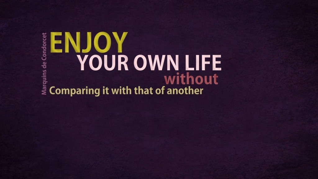 Life Enjoyment Quote 1 Picture Quote #1