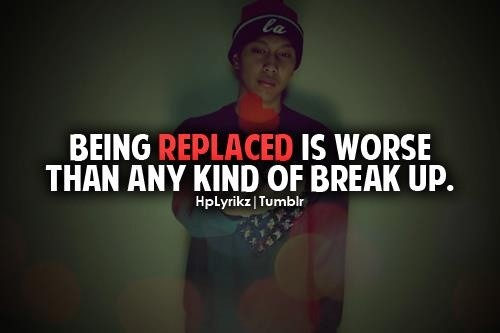 Being Replaced Quote 1 Picture Quote #1