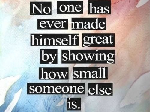 Being The Bigger Person Quote 2 Picture Quote #1
