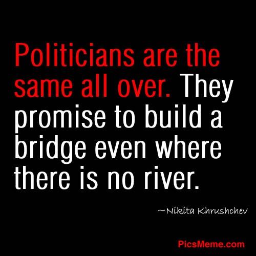 Funny Politician Quote 2 Picture Quote #1