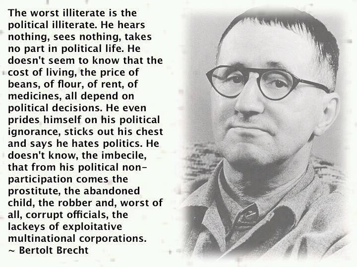 Politician Quote 4 Picture Quote #1