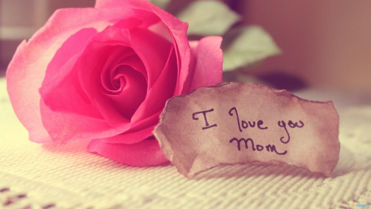 I Love Mom Quote 1 Picture Quote #1
