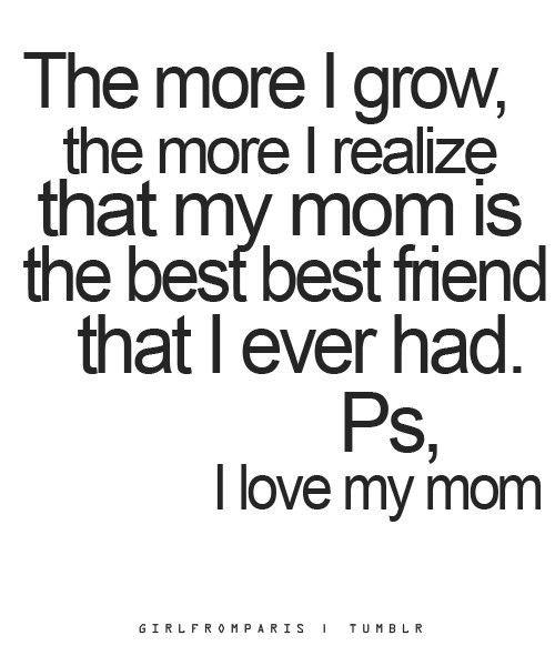 I Love Mom Quote 3 Picture Quote #1