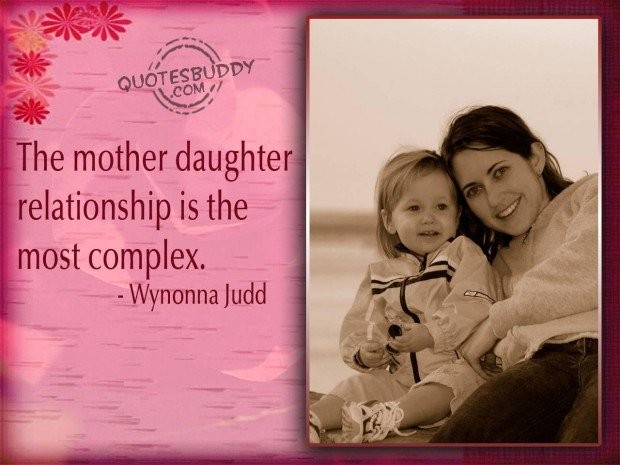 Mother Daughter Relationship Quote 2 Picture Quote #1