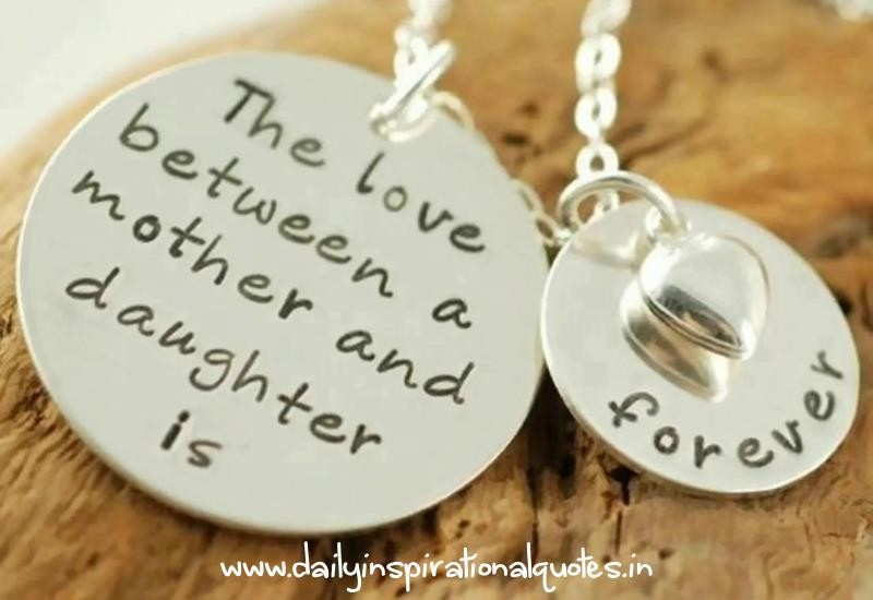 Mother Daughter Relationship Quote 5 Picture Quote #1