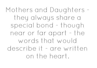 Mother Daughter Relationship Quote 6 Picture Quote #1