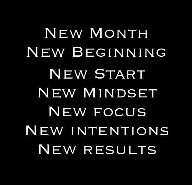 Motivation New Month Quote 1 Picture Quote #1