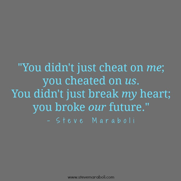 Cheated Quote 7 Picture Quote #1