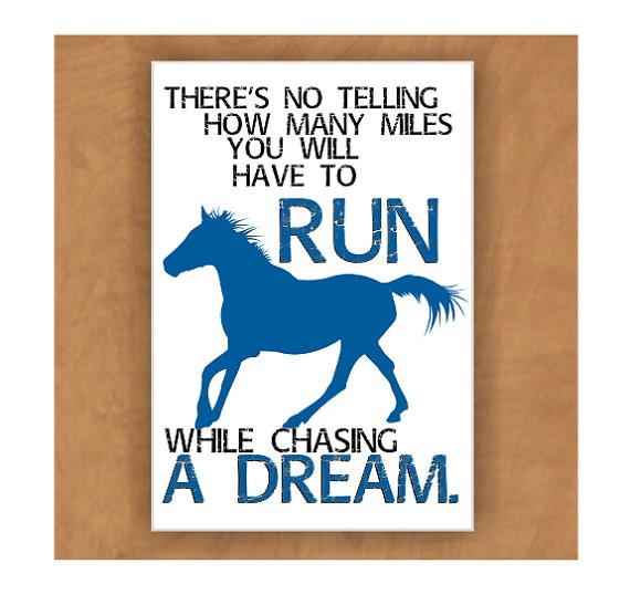 Inspirational Quote About Chasing Dreams 2 Picture Quote #1