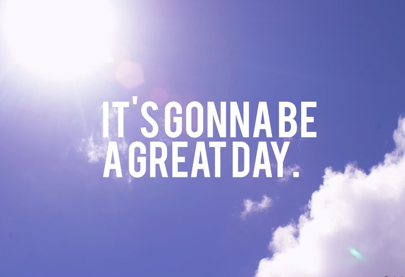 Its A Wonderful Day Quote 1 Picture Quote #1