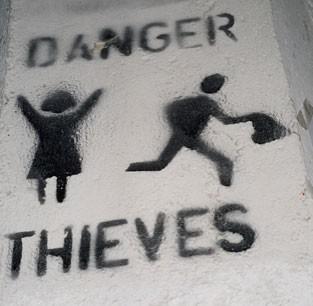 Money Thief Quote 1 Picture Quote #1