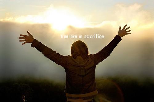 True Love Sacrifice Quote 1 Picture Quote #1