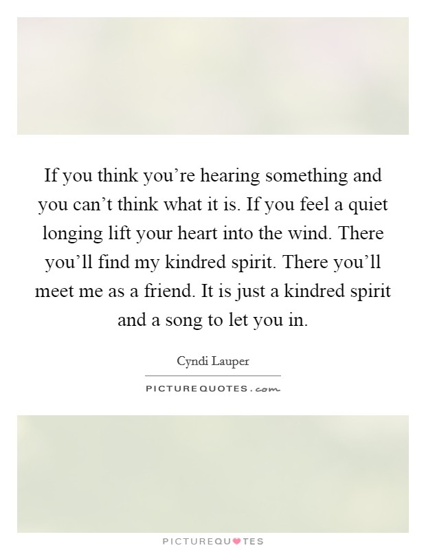 Kindred Spirit Quotes Sayings