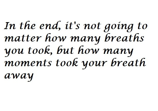 In The End Quote 2 Picture Quote #1