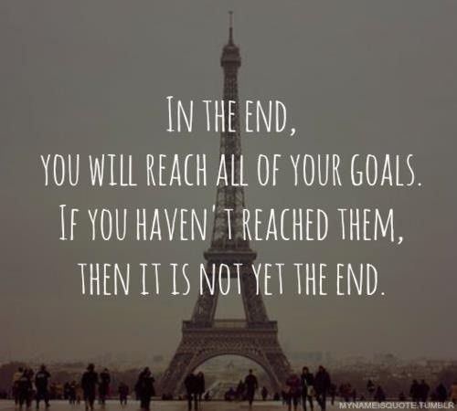 In The End Quote 3 Picture Quote #1