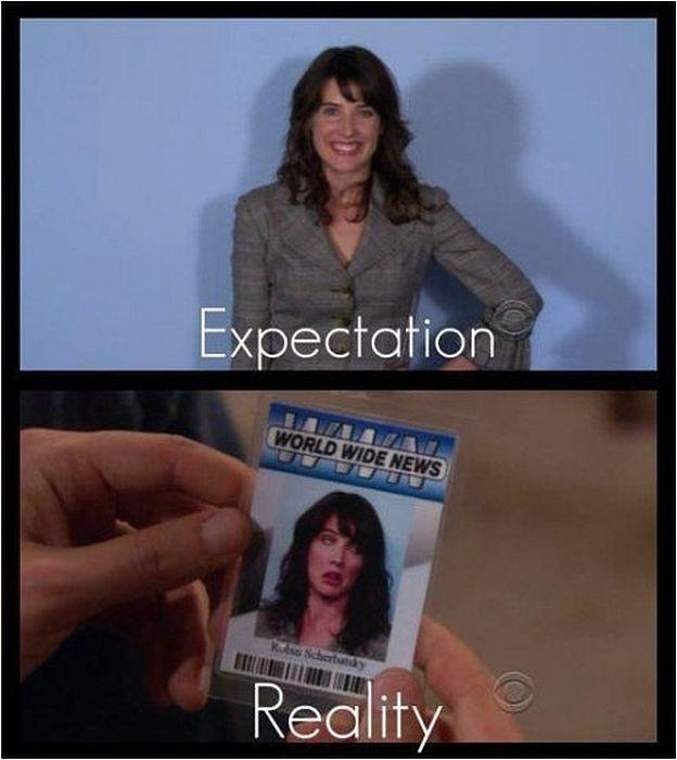 Expectation. Reality Picture Quote #10