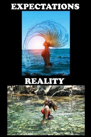 Expectation. Reality Picture Quote #6
