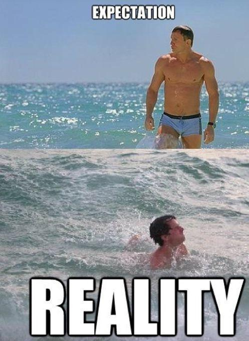 Expectation. Reality Picture Quote #9