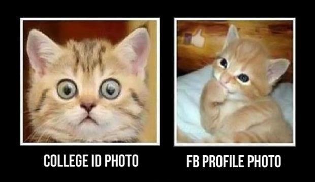 College ID photo. FB profile photo Picture Quote #1