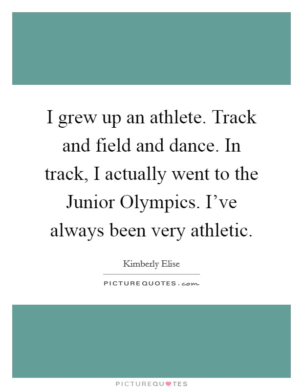 Track And Field Quotes & Sayings | Track And Field Picture ...