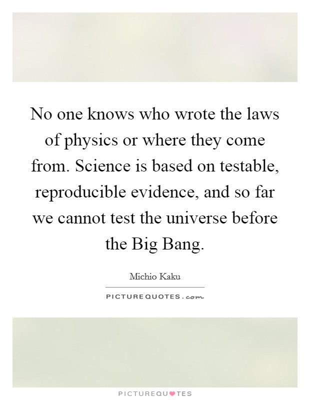 the flaws in the human laws of physics In practice, there are four laws of thermodynamics two of these are relatively unimportant when discussing theology, but the other two lead to strong implications regarding creation for the purposes of this discussion, creationism simply means the idea that god, as opposed to mindless physics.