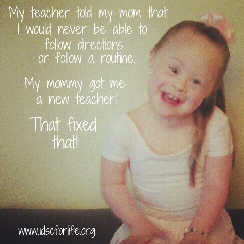 Down Syndrome Quotes & Sayings | Down Syndrome Picture Quotes
